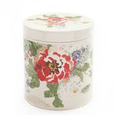 Ceramic Canisters For The Kitchen The Pioneer Woman Country Garden 3 Piece Canister Set Walmart Com
