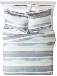 Nate Berkus Duvet Cover Nate Berkus Watercolor Stripe Comforter Set Decorist