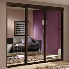 Mirrored Closet Door by Espresso Mirrored Sliding Closet Door Lowe U0027s Canada Espresso