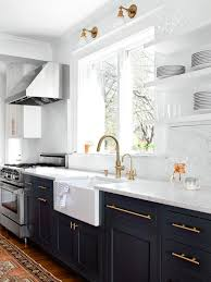 kitchen cabinets with hardware pictures great kitchen cabinet knobs rachel schultz black vs brass with