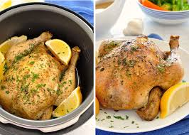 Roast Whole Chicken Slow Cooker Roast Chicken