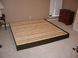 Plans To Build A Queen Size Platform Bed by King Platform Bed Frame Design Eva Furniture