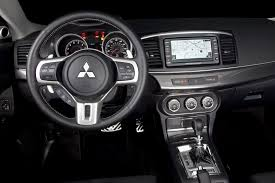 mitsubishi lancer 2015 interior 2014 mitsubishi lancer sportback information and photos