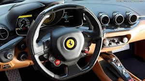 Ferrari F12 2016 - ferrari f12 black interior wallpaper 1920x1080 9292