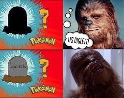Chewbacca Memes - chewbacca discovers han solo s grave diglett gravestone know