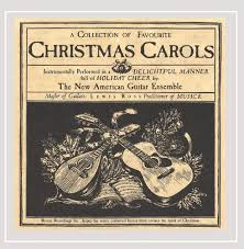 Christmas Carols Invitation Cards Lewis Ross A Collection Of Favourite Christmas Carols Amazon