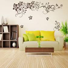 compare prices room art online shopping buy low price pcs eco friendly removable floral flower pvc wall sticker window door closet mural art decal