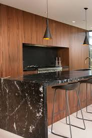 light wood kitchen cabinets with black countertops 50 black countertop backsplash ideas tile designs tips