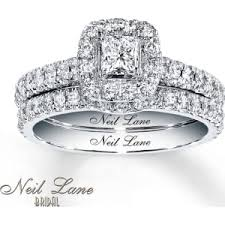 Kay Jewelers Wedding Rings Sets by Neil Lane Bridal Set 1 Ct Tw Diamonds 14k White Gold From Kay