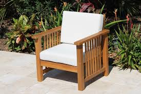 Deep Armchair Southampton Deep Seat Teak Set U2013 4 Seat Including Full Sunbrella