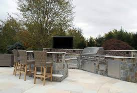 Outdoor Kitchen Furniture Outdoor Kitchen U0026 Bbq Design U0026 Installation Bergen County Nj