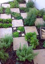 Herb Garden Layouts Tiles In The Garden Create An Easy Walkway Herbs Garden