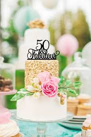 themed cake decorations 50th birthday cake topper 50 and fabulous birthday cake
