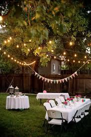 Backyard Cookout Ideas Backyard Party Ideas For Adults Backyard Party Lighting