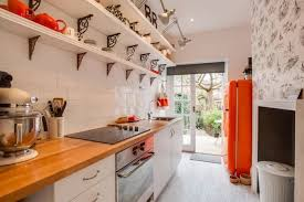 narrow kitchen functional long narrow kitchen ideas styles and cabinets interior