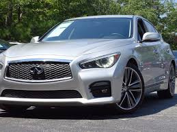 2014 used infiniti q50 4dr sedan rwd sport at alm roswell ga iid