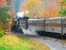 Wisconsin Fall Color Map by Fall Foliage Trains Catch A Fall Foliage Train Ride