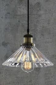 vintage glass pendant light yves vintage glass pendant light my furniture