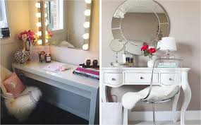Pink Vanity Table How To Style Your Makeup Vanity Table Firma