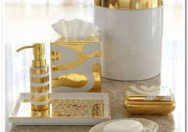 bathroom accessories ideas the white and gold bathroom accessories ideas cialisvb