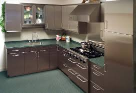 metal kitchen furniture stainless steel kitchen cabinets new ideas fascinating stainless