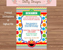 elmo birthday invitation boy elmo invitation elmo birthday
