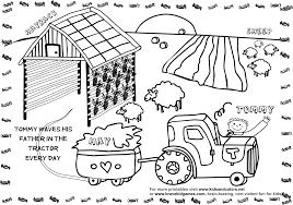 free printable farm coloring pages kids coloring