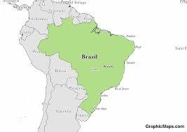 map of brasilia brazil s capital graphicmaps