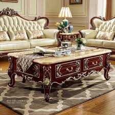 antique centre table designs antique solid wood sofa center table for luxury european style