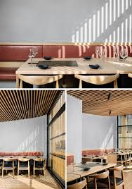 a vertical wood exterior is the face of this new korean bbq