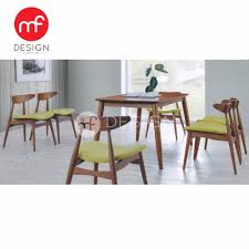 Table With 6 Chairs Mf Design Troy Dining Table With 6 Chair Dining Chair Dining Set 1