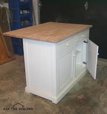 Affordable Kitchen Islands Kitchen Island On A Budget Ask The Builderask The Builder
