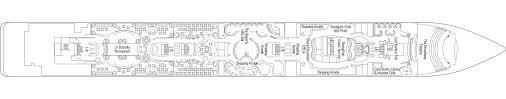 Internet Cafe Floor Plan Msc Lirica Cruise Ship Msc Cruises