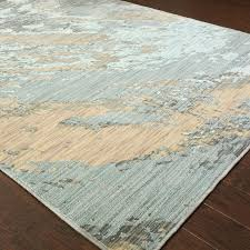 Wood Area Rug Trent Design Haugan Blue Area Rug Reviews Wayfair