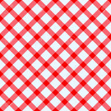 red and white checked tablecloth royalty free cliparts vectors