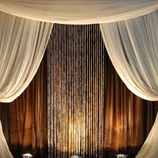 20 Ft Curtains 9ft Iridescent Cut Curtain 7ft 20ft