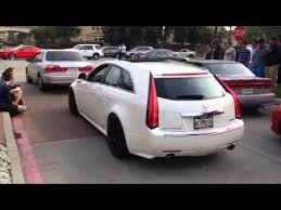hennessey cadillac cts v wagon hennessey tuned cadillac cts v wagon at cars and coffee hou