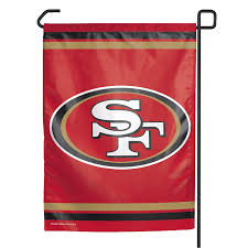 49ers Home Decor by Amazon Com Nfl San Francisco 49ers Garden Flag Sports Fan