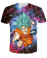 dragon ball 3d shirts