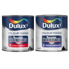 dulux weathershield colour mixing exterior gloss u0026 satin 1 litre