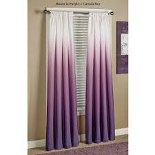 Yellow And Purple Curtains Shades Ombre Curtains