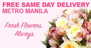 same day delivery flowers real free same day delivery flowers in all metro manila areas