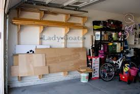 Wood Shelves Plans Garage by Wall Shelves Design Building Shelves In Garage On Wall Ideas