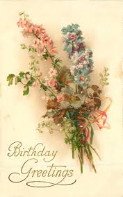birthday greetings bouquet of flowers images pinterest
