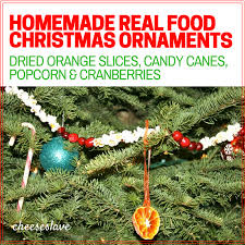 ornaments made with real food cheeseslave