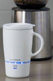 heated coffee mug let s not drink coffee tea gone cold anymore
