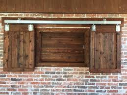 barn door style kitchen cabinets most 14 good view outdoor kitchen with barn doors home devotee
