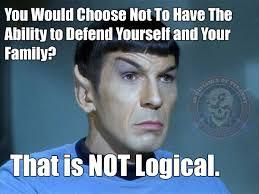 2nd Amendment Meme - using spock in a meme to defend the 2nd amendment bro do you