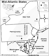 map of new york enchanted learning mid atlantic states map quiz printout enchantedlearning