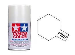 Spray Paint White - tamiya spray paint ps 57 pearl white acrylic paints 100ml